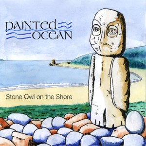 Stone Owl on the Shore